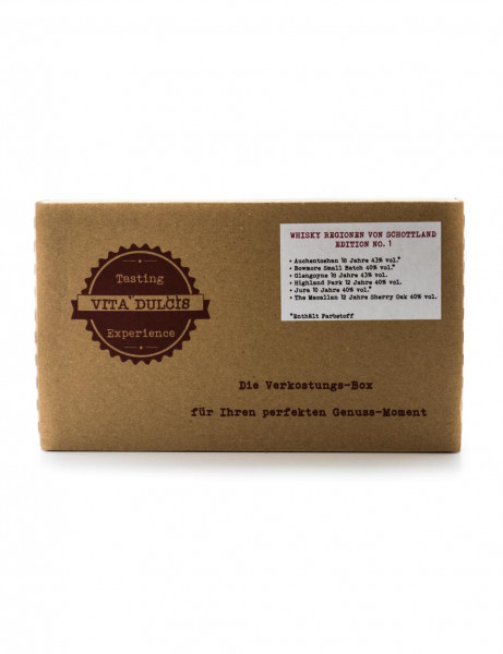 Whisky Schottland Tasting Box - 0,12L 41% vol