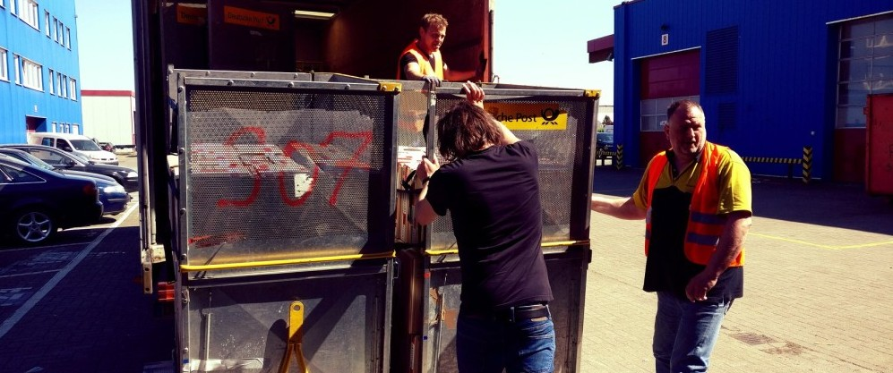 DHL holt Pakete ab