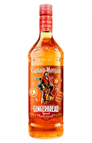 Captain Morgan Gingerbread Spiced Limited Edition - 0,5L 30% vol