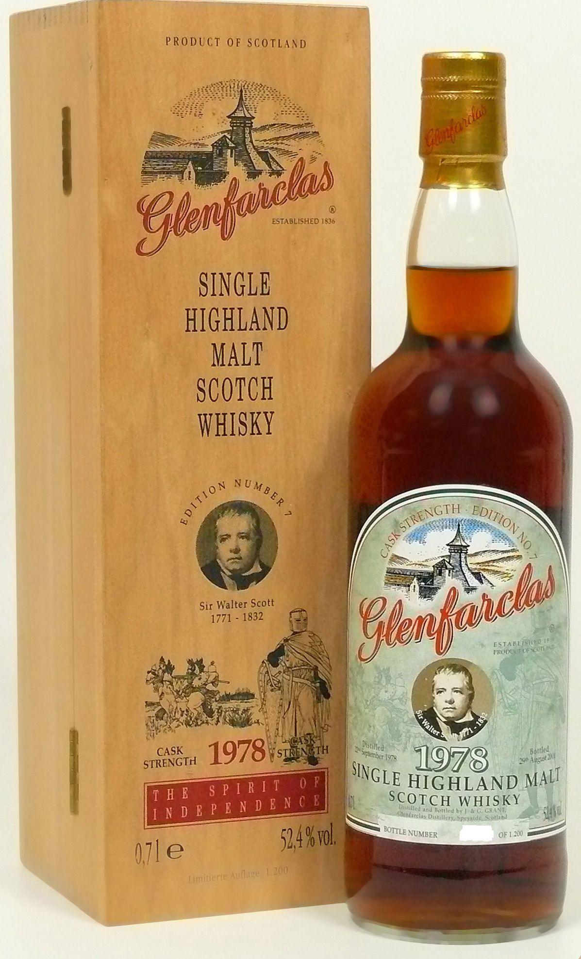Glenfarclas Edition No. 7 Sir Walter Scott