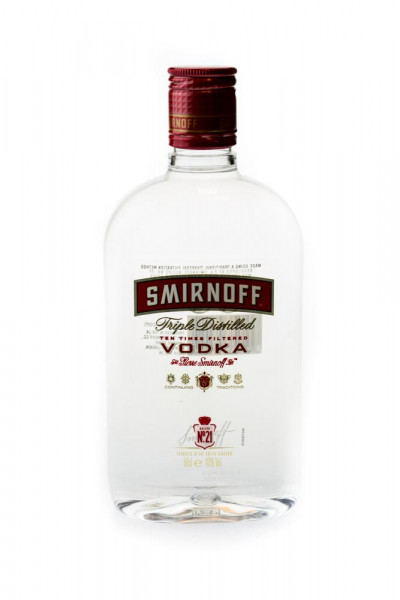 Smirnoff Red Label Vodka PET - 0,5L 37,5% vol