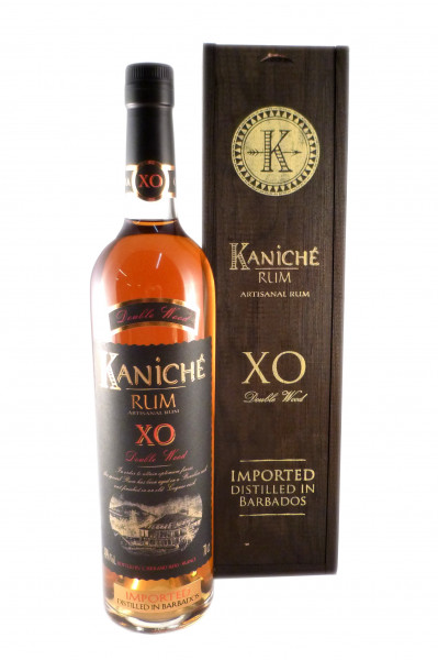 Kaniche XO Double Wood Rum - 40% vol - (0,7L)