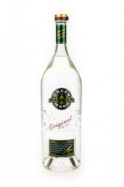 Green Mark Vodka - 1 Liter 38% vol
