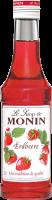 Monin Erdbeere Sirup - 0,25L