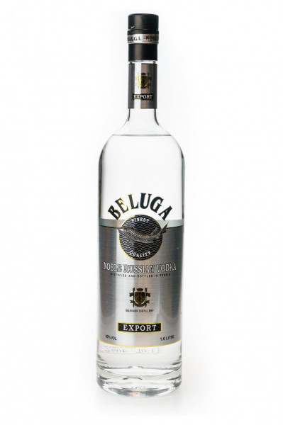 Beluga Noble Russian Vodka - 1 Liter 40% vol