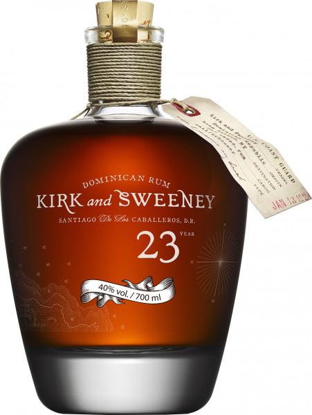 Kirk & Sweeney 23 Jahre Rum - 0,7L 40% vol