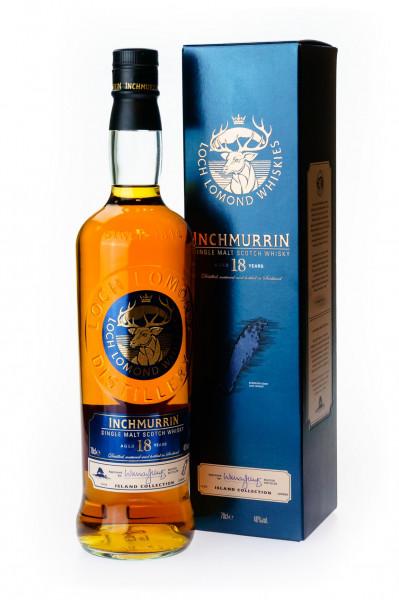 Inchmurrin 18 Jahre Highland Single Malt Scotch Whisky - 0,7L 46% vol