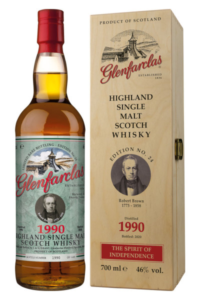 Glenfarclas Edition No. 24 Robert Brown Single Malt Scotch Whisky - 0,7L 46% vol