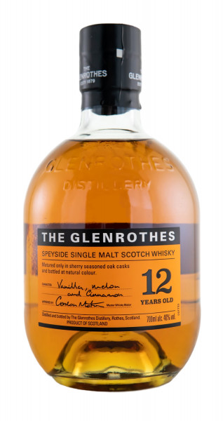 The Glenrothes 12 Jahre Single Malt Whisky - 0,7L 40% vol
