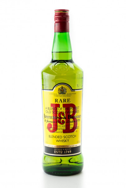 J & B Rare Blended Scotch Whisky - 1 Liter 40% vol