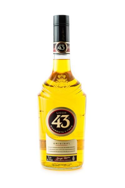 Licor 43 Likör Cuarenta y Tres - 1 Liter 31% vol
