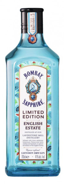 Bombay Sapphire English Estate Limited Edition - 0,7L 41% vol