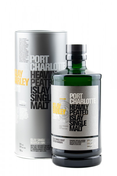 Port Charlotte Islay Barley 2011 Heavily Peated - 0,7L 50% vol