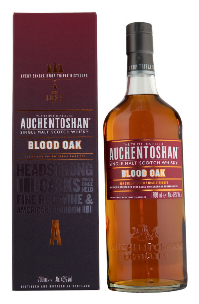 Auchentoshan Blood Oak Single Malt Scotch Whisky - 0,7L 46% vol