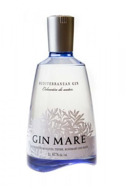 Gin Mare Mediterranean Gin - 1 Liter 42,7% vol