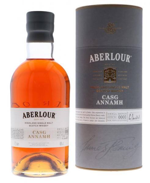 Aberlour Casg Annamh Highland Single Malt Scotch Whisky - 0,7L 48% vol