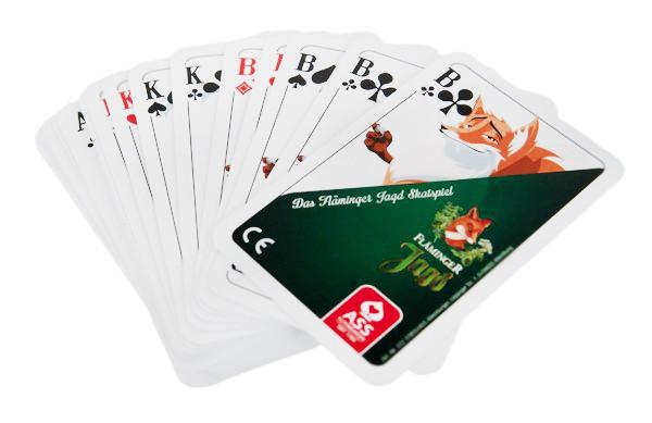 Skat Karten Spiel Fläminger Jagd