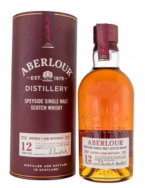 Aberlour 12 Jahre Double Cask Matured Highland Single Malt Scotch Whisky - 0,7L 40% vol