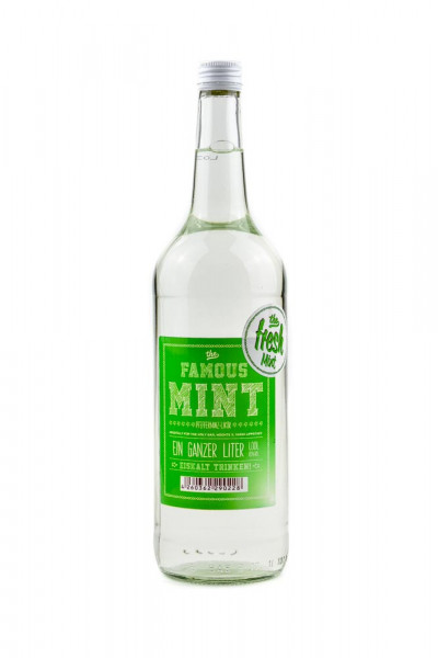 The Famous Mint Likör - 1 Liter 18% vol