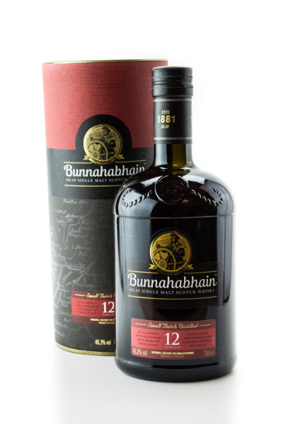 Bunnahabhain 12 Jahre Single Malt Scotch Whisky - 0,7L 46,3% vol