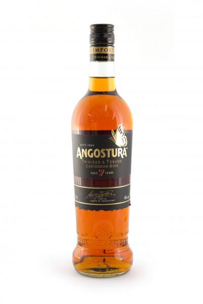 Angostura Dark 7YO brauner Rum - 40% vol - (0,7L)