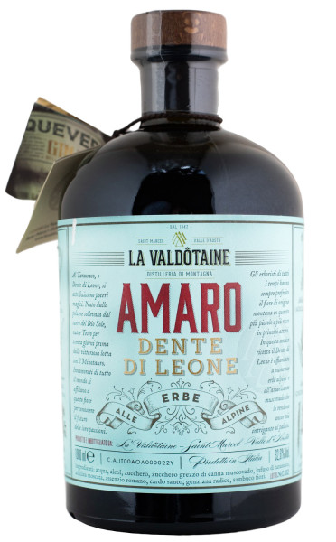 La Valdotaine Amaro Dente di Leone - 1 Liter 32,6% vol