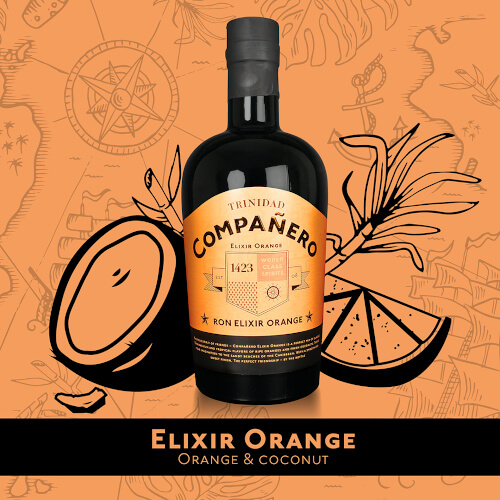 Companero Ron Elixir Orange