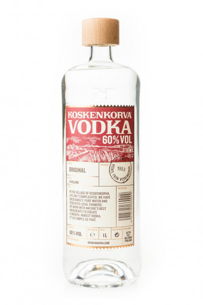Koskenkorva Vodka - 1 Liter 60% vol