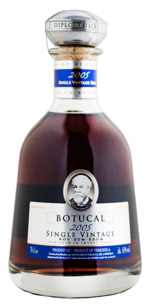 Botucal Single Vintage Rum 2005 Sherry Cask - 0,7L 43% vol
