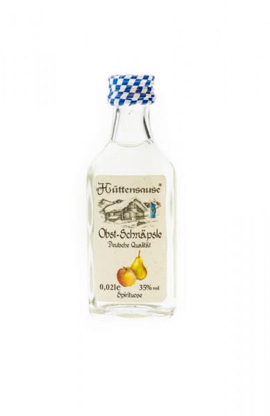 Hüttensause Obst Schnäpsle - 0,02L 35% vol