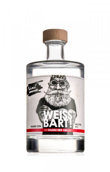 Weissbart Gin - 0,5L 41% vol