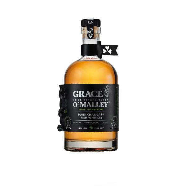 Grace OMalley Dark Char Cask Irish Whiskey - 0,7L 42% vol
