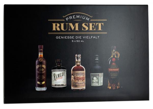 Premium Rum Tasting 5er-Set - 0,25L 40,8% vol