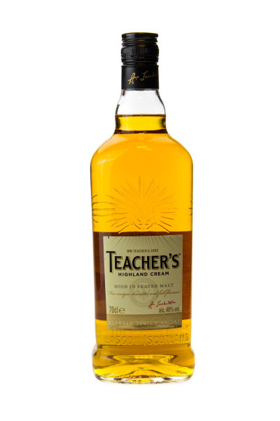 Teachers Highland Cream Blended Scotch Whisky - 0,7L 40% vol