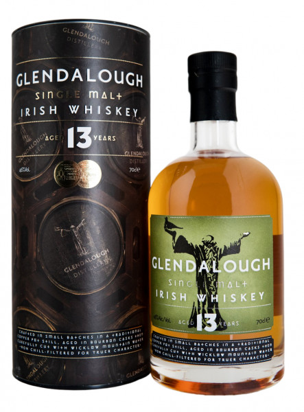Glendalough 13 Jahre Single Malt Mizunara Oak Finish Irish Whiskey - 0,7L 46% vol