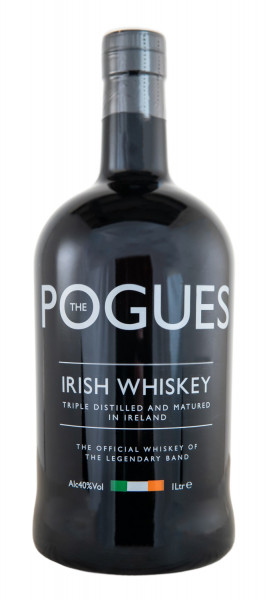 The Pogues Irish Whisky - 1 Liter 40% vol