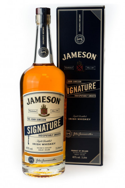 Jameson Signature Irish Whiskey - 1 Liter 40% vol