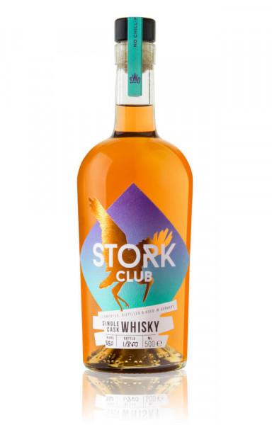Stork Club Single Cask Red Bordeaux Single Malt Whisky - 0,5L 55% vol