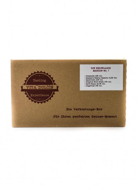 Gin Weltklasse Tasting Box - 0,12L 44,3% vol