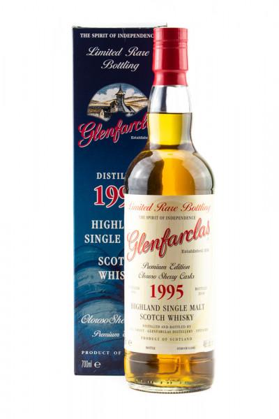 Glenfarclas Vintage 1995 Oloroso Sherry Cask Scotch Whisky - 0,7L 46% vol
