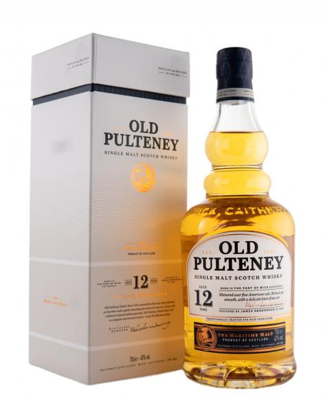 Old Pulteney 12 Jahre Single Malt Scotch Whisky - 0,7L 40% vol