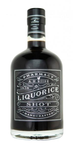 A.H. Riise Lakrids Shot Likör - 0,7L 18% vol