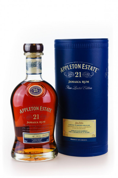 Appleton Estate 21 Jahre Jamaica Rum - 0,7L 43% vol