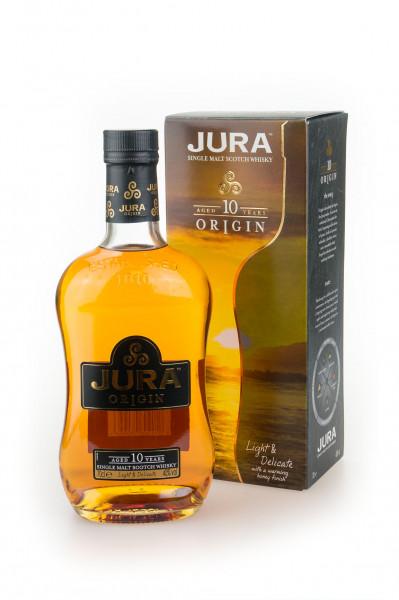 Isle of Jura Origin 10 Jahre Single Malt Scotch Whisky - 0,7L 40% vol
