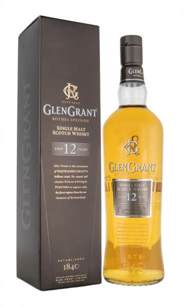Glen Grant 12 Jahre Speyside Single Malt Scotch Whisky - 0,7L 43% vol