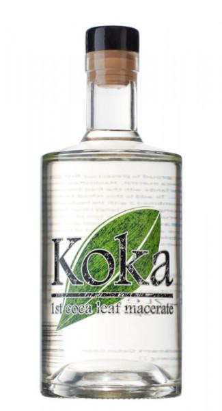 Koka 1st Coca Leaf Macerate - 0,7L 40% vol