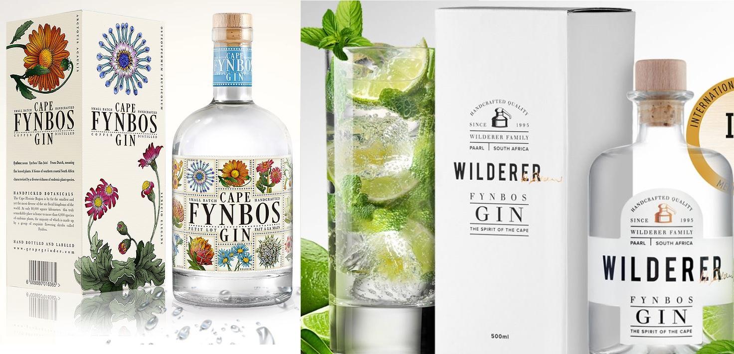 Cape Fynbos und Wilderer Fynbos Gin