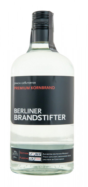 Berliner Brandstifter Kornbrand - 0,7L 38% vol
