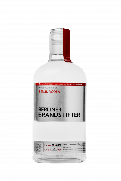 Berliner Brandstifter Vodka - 0,7L 43,3% vol