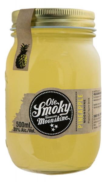 Ole Smoky Pineapple Moonshine - 0,5L 20% vol